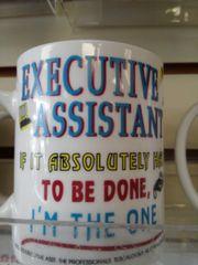 Executive Asst. Mug