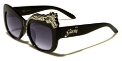 Cat Eyes Leopard Sunglasses #3082
