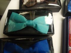 Teal Bow Tie #M2