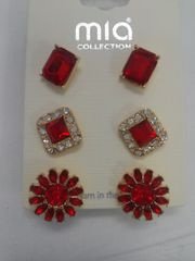 3 Pr Earrings Set 5831