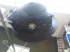 Black Dress Hat #2961