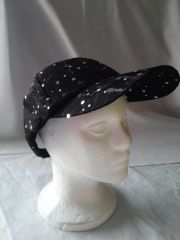Black Sparkle Ballcap