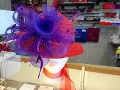 Red Straw Hat #2775