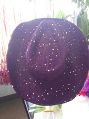 Purple Sparkle Cowboy Hat