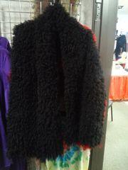 Black Lambskin Shawl
