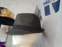 All Black Fedora M15