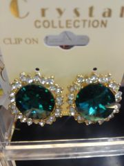Green Earrings GE1