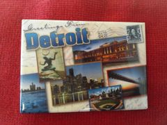 Detroit Collage 2 Magnet #3636