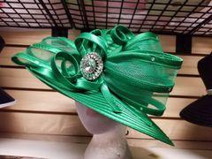 Green Dressy Hat 418194