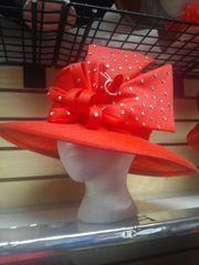 Coral Dress Hat #3211