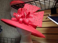 Coral Dress Hat 418197