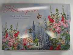 Hummingbirds Assorted Blank Greeting Cards