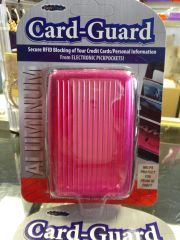 Hot Pink Card Guard #2885
