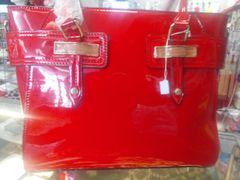 Red Patent Leather Purse #5900