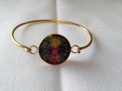 Brass Wildflower Bracelet