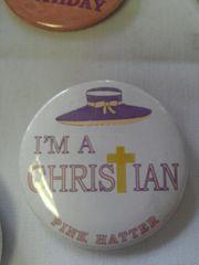 I'm A Christian Pink Hatter