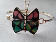 Abalone Butterfly Bracelet