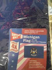Michigan 3ft x 5ft Flag #3639