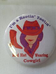 I'm A Rootin' Tootin' ....Button #2146