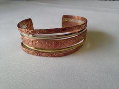 Bronze, Silver, Copper Marriage Bracelet