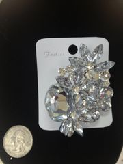 Rhinestone Brooch Pin #2790