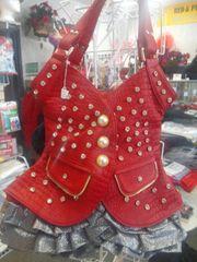 Red Dress Purse #5903
