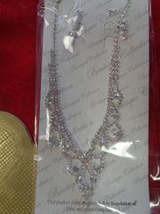 Rhinestone Necklace Set #3055