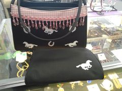 Black and Pink Cowgirl Purse #2750