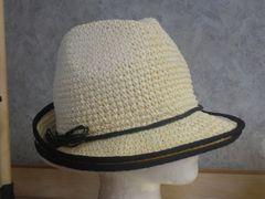 Off White Crochet Hat #3006