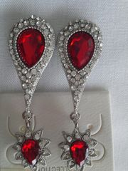 Red Earrings #3111
