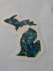 Small Michigan Outline Sticker