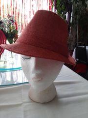 Orange Fedora Hat