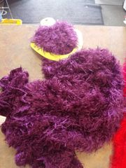Purple Fuzzy Magic Scarf 2497