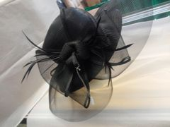 Black Hat with Netting #3602