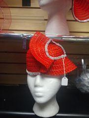 Red Straw Hat #3073