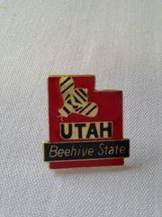 Utah Lapel Pin