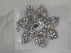 Large AB Brooch 5822