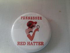Tennessee Red Hat Button