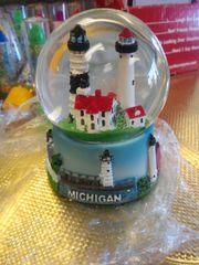 Michigan Lighthouse Globe MLG