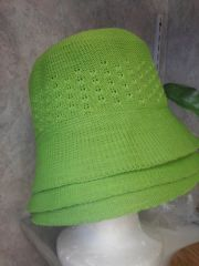 Lime Green Bucket Hat #3048