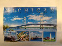 Michigan Bridge Scene #MP