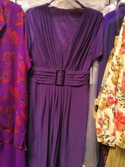 Purple Spandex Dress