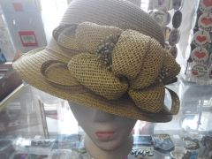 Green Derby Style Hat #2962