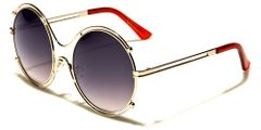Round w Metal Sunglasses #3083
