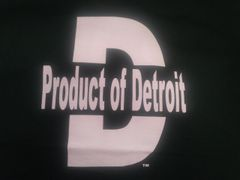 Green/White Product of Detroit Shirt #4017