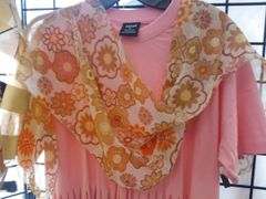 Chiffon Brown and Beige Scarf #2959