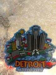 Detroit Scenery Magnet #3618