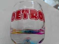 Detroit 3 Shot Glass