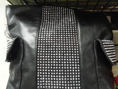 Black Studded Purse #3227