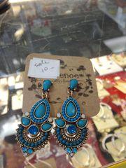 Turquoise Dangler Earrings